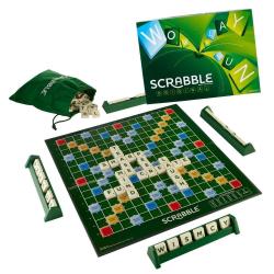Joc de societate Scrabble limba romana 2-4 jucatori Jocuri de Societate