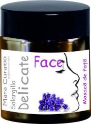Masca de fata Salargilla Delicate Face Masti, exfoliant, tonice