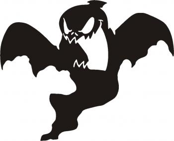 Sticker decorativ Fantoma Creepy