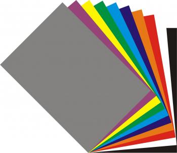 Autocolant - A4 - set 10 culori