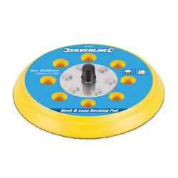 Disc rezerva cu arici pentru slefuitor pneumatic 125mm Silverline