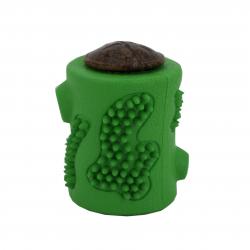 Jucarie cu Recompensa Lock and Block RubberTuff Treat Stump Starmark Verde Mica Pentru Caini Accesorii si jucarii animale
