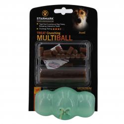 Jucarie cu Recompensa Multi Ball Starmark Verde Medie Pentru Caini Accesorii si jucarii animale
