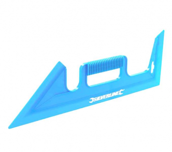 Protectie din plastic pentru vopsit zugravit corectii 450mm Silverline