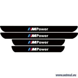 Set protectie praguri adezive reflectorizant BMW - sticker decorativ
