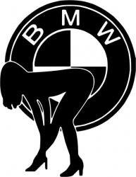 Sticker decorativ auto BMW