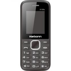 Telefon Mobil Karbonn K106s Dual Sim Taste Mari Negru