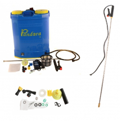 Pompa stropit 20 L cu Acumulator + Set Duze + Lance Telescopica b