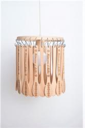 Candelabru Firesq-lemn cu dichis + carte de bucate CADOU Corpuri de iluminat