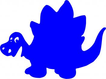 Sticker decorativ Dinozaur