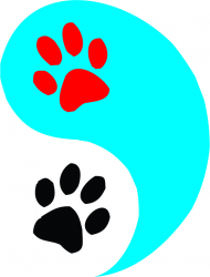 Sticker decorativ Labute Ying and Yang