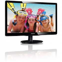 MONITOR REFURBISHED PHILIPS 226V4LAB/00 21.5 INCH 5MS BLACK 60HZ Monitoare LCD LED Refurbished