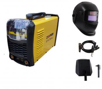 Oferta 2020 Aparat de Sudura - Invertor Campion MMA 350L + Masca de sudura heliomata 1.6-5mm toate accesoriile sunt incluse