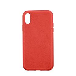 Husa Forever Bioio pentru Apple iPhone 11 Pro Eco-freindly Compozitie din plante Biodegradabila Rosu Huse Telefoane