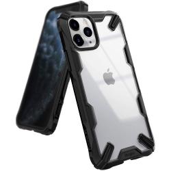 Husa Ringke Fushion X Apple iPhone 11 Pro Transparent Negru Huse Telefoane