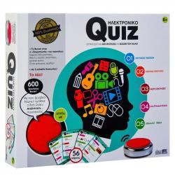 Joc interactiv Quiz Electronic cu buzzer 600 de intrebari limba romana Jocuri de Societate