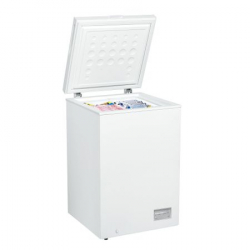 Lada frigorifica Crown CHF-100E 100 litri clasa A+ alba Lazi si congelatoare