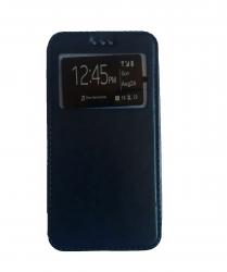 Husa HTC Desire 526 Flip Cover S-View Bleumarin