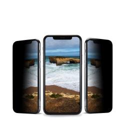 Folie sticla temperata 3D Anank PRIVACY pentru Apple iPhone 11 Pro Max Negru Accesorii Diverse Telefoane