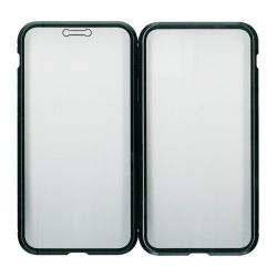 Husa de protectie Millo cu rama metalica si sticla pentru fata si spatele telefonului- Apple iPhone 11 Pro Max Accesorii Diverse Telefoane