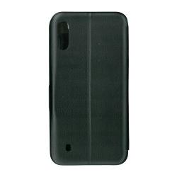 Husa de protectie tip carte 360 Window EuroCELL pentru Samsung Galaxy M10 negru