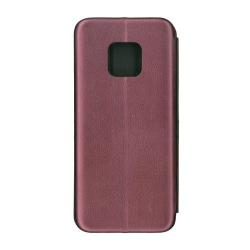 Husa de protectie tip carte EuroCELL 360 de grade pentru Huawei Mate 20 Pro visiniu Accesorii Diverse Telefoane