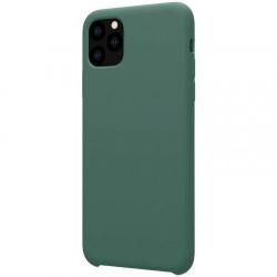Husa din silicon mat verde cu interior de microfibra pentru Apple iPhone 11 Pro- Nillkin Flex Accesorii Diverse Telefoane
