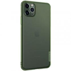 Husa din silicon Nillkin pentru Apple iPhone 11 Pro verde transparent Accesorii Diverse Telefoane