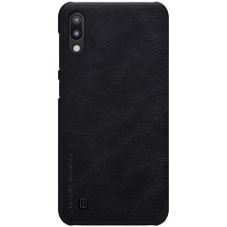 Husa flip tip carte pentru Samsung Galaxy M10 negru - Nillkin Qin