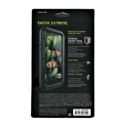 Husa metalica Lunatik TAKTIK R Extreme pentru iPhone 11 Pro Max negru
