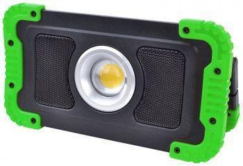 Proiector instalator LED cu acumulator difuzor bluetooth STLFLBT15W Corpuri de iluminat