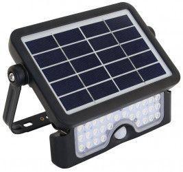 Proiector LED cu panou fotovoltaic si detector de miscare C