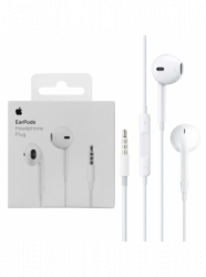 Casti Handsfree Originale Apple cu mufa Jack 3.5 mm control volum si microfon pentru iPhone 55SSE66s 6 Plus6s Plus Casti telefoane mobile