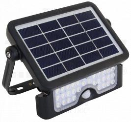 Proiector LED cu panou fotovoltaic si detector de miscare LSFL10W Corpuri de iluminat