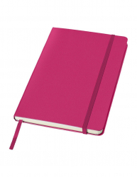 Agenda A5 cu pagini dictando coperta tare cu elastic Everestus CC10 carton roz lupa de citit inclusa Articole si accesorii birou