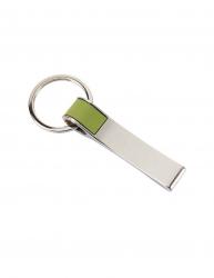 Breloc cu banda colorata Everestus KR0392 aliaj de zinc otel verde argintiu Articole si accesorii birou