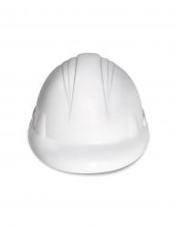 Jucarie antistres Casca Constructii Everestus ASJ024 poliuretan alb
