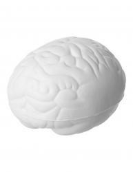 Jucarie antistres Creier Everestus ASJ074 poliuretan alb