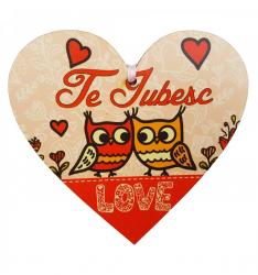 Tablita Love din lemn Tablouri
