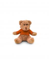 Ursulet de Plus inaltime 15 cm Kidonero Colectia Micul meu prieten JPK034 plush portocaliu radiera inclusa Jucarii