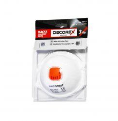 Masca de praf cu supapa FFP1 3 bucati Decorex VL42553 Articole protectia muncii
