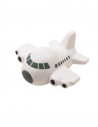 Jucarie antistres Avion Everestus ASJ033 poliuretan gri alb