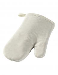 Manusa de bucatarie pentru cuptor bumbac Everestus MBE15 alb saculet de calatorie inclus
