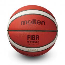 Minge baschet Molten - oficiala FIBA - piele naturala - FIBA OFFICIAL MATCH BALL