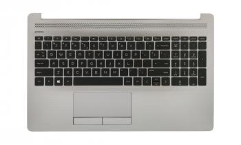 Carcasa superioara laptop cu tastatura si touchpad HP 250 G7 255 G7 L50001-B31 fara iluminare argintie Accesorii Diverse