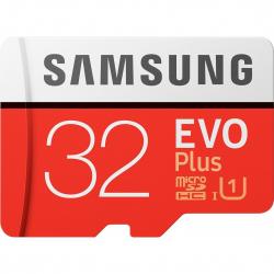 Card De Memorie Samsung Microsd Evo De 32 Gb Cu Adaptor Sd Class 10 Carduri Memorie
