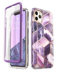 Husa Premium Originala 360 Grade Supcase Cosmo iPhone 11 Pro Purple Huse Telefoane