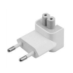 Adaptor incarcator priza Europa EU Romania pentru Apple Macbook charger MagSafe iPhone iPad AC 100-220V alb
