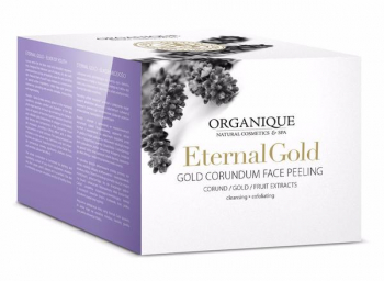 Exfoliant facial cu aur Organique 180 ml Masti, exfoliant, tonice