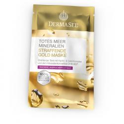 Masca cu aur regeneranta si pentru fermitate Dermasel 12 ml Masti, exfoliant, tonice